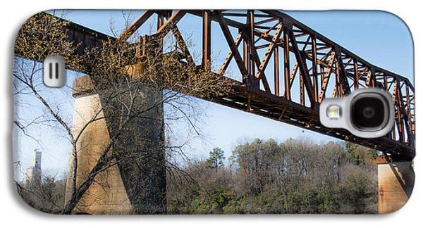 Tuscaloosa Galaxy S4 Cases - Northport Trestle over the Tuscaloosa River Galaxy S4 Case by Parker Cunningham