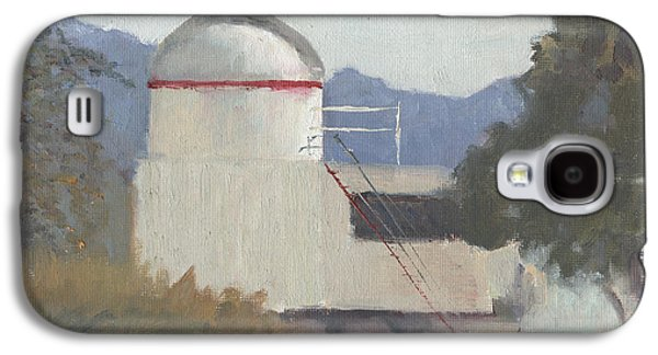 Jet Star Paintings Galaxy S4 Cases - Northrup Observatory Galaxy S4 Case by  Elizabeth B Tucker