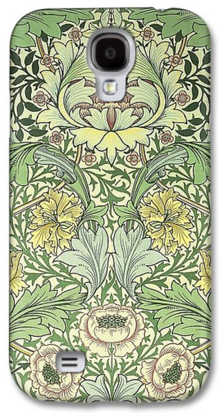 Food And Beverage Tapestries - Textiles Galaxy S4 Cases - Norwich Pattern Galaxy S4 Case by William Morris