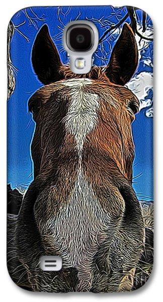 Llama Digital Galaxy S4 Cases - Nosey II Galaxy S4 Case by Jen  Brooks Art