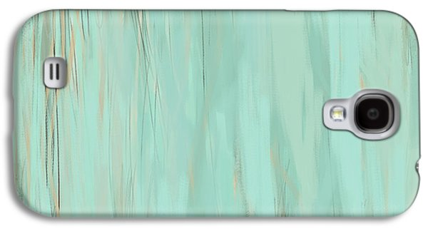 Beige Abstract Galaxy S4 Cases - Nostalgic Nature Galaxy S4 Case by Lourry Legarde