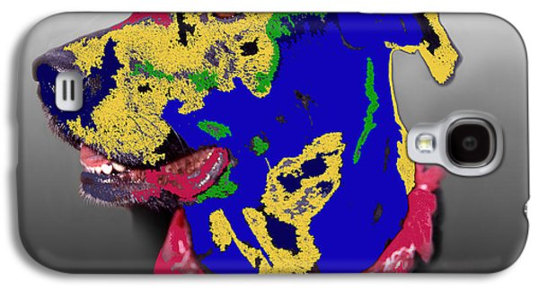 Abstract Digital Photographs Galaxy S4 Cases - Not A Black Lab Galaxy S4 Case by Skip Willits