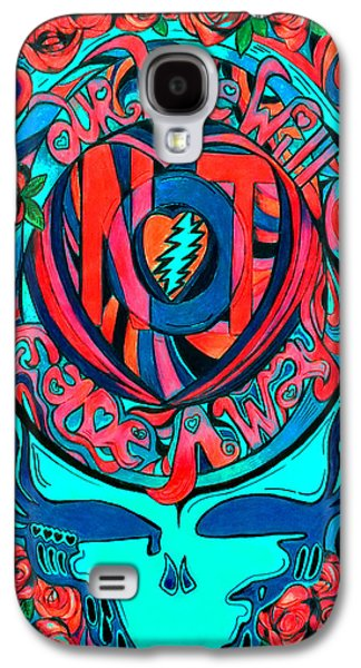 Rocks Drawings Galaxy S4 Cases - Not Fade Away TWO Galaxy S4 Case by Kevin J Cooper Artwork
