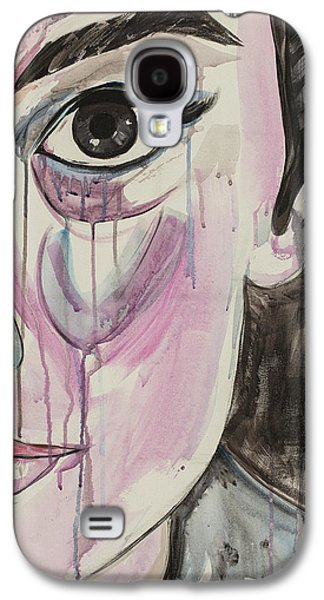Torn Galaxy S4 Cases - Not so Fair Lady Galaxy S4 Case by Christel  Roelandt