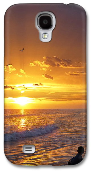 Fantasy Photographs Galaxy S4 Cases - Not Yet - Sunset Art By Sharon Cummings Galaxy S4 Case by Sharon Cummings