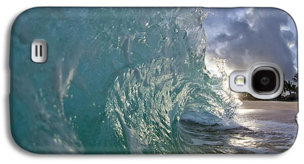 Ocean Photographs Galaxy S4 Cases - Magnificent Curl Galaxy S4 Case by Sean Davey
