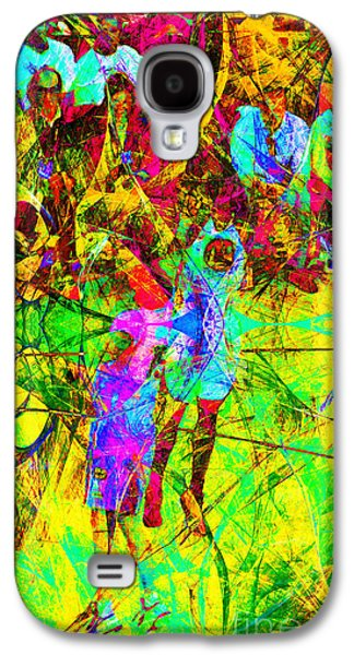 Slam Galaxy S4 Cases - Nothing But Net The Jump Shot 20150310 Galaxy S4 Case by Wingsdomain Art and Photography