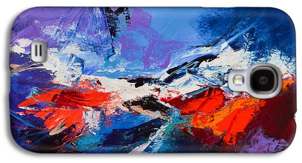 Abstractions Paintings Galaxy S4 Cases - Nothing Else Matters Galaxy S4 Case by Elise Palmigiani