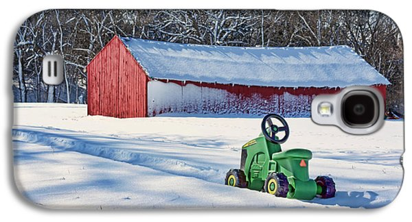 Machinery Galaxy S4 Cases - Nothing Runs Like a Deere #1 Galaxy S4 Case by Nikolyn McDonald