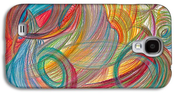 Abstract Movement Drawings Galaxy S4 Cases - Nothing Stable Galaxy S4 Case by Kelly K H B