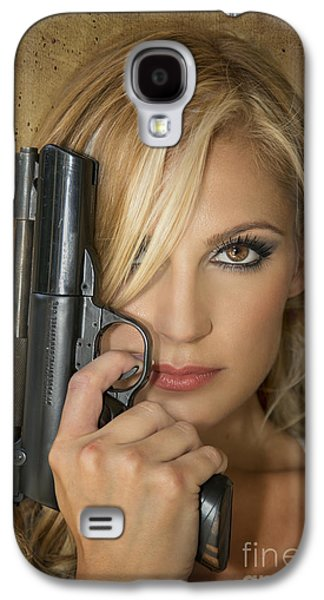 Action Photographs Galaxy S4 Cases - Nothing To Fear Galaxy S4 Case by Evelina Kremsdorf