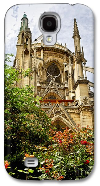 Landmarks Photographs Galaxy S4 Cases - Notre Dame de Paris Galaxy S4 Case by Elena Elisseeva