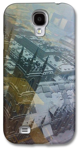 Old Montreal Galaxy S4 Cases - Notre Dame on the Vertical Galaxy S4 Case by Valerie Rosen