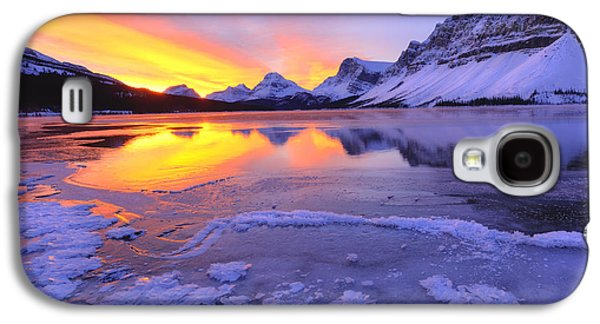 Photographs Galaxy S4 Cases - November Freeze 2 Galaxy S4 Case by Dan Jurak