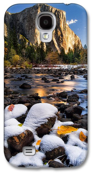 Mountain Valley Galaxy S4 Cases - November Morning Galaxy S4 Case by Anthony Bonafede