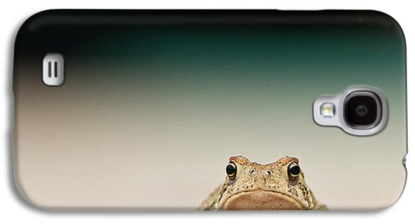 Frogs Photographs Galaxy S4 Cases - Nowhere Man Galaxy S4 Case by Annette Hugen