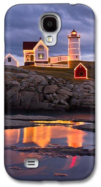 Cape Neddick Galaxy S4 Cases - Nubble Galaxy S4 Case by Benjamin Williamson