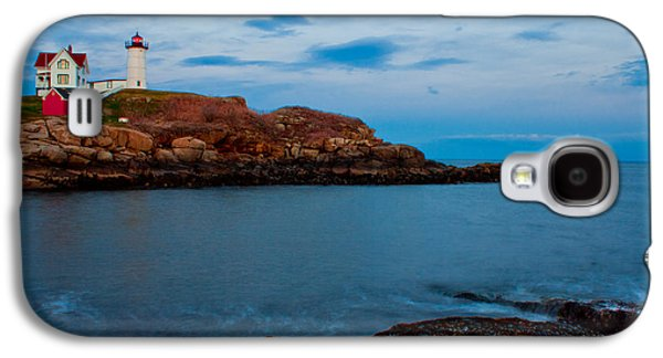 Cape Neddick Lighthouse Galaxy S4 Cases - Nubble Light at Cape Neddick Maine Galaxy S4 Case by John McGraw