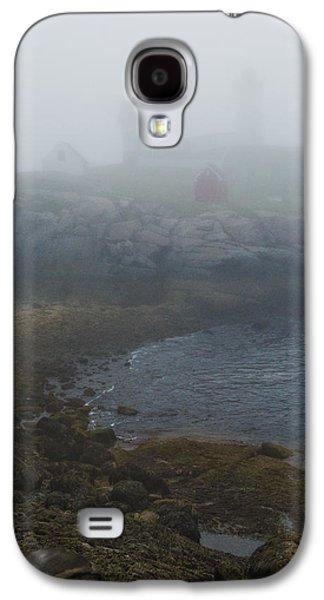 Contemplative Photographs Galaxy S4 Cases - Nubble Light Galaxy S4 Case by Joseph Smith