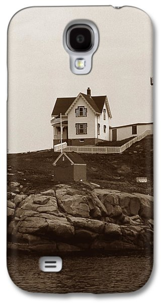 Nubble Lighthouse Galaxy S4 Cases - Nubble Light Galaxy S4 Case by Skip Willits