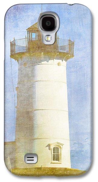 Cape Neddick Lighthouse Galaxy S4 Cases - Nubble Lighthouse Galaxy S4 Case by Carol Leigh