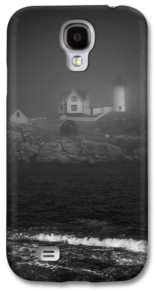 Cape Neddick Lighthouse Galaxy S4 Cases - Nubble Lighthouse Galaxy S4 Case by Joseph Smith