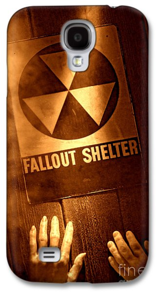 Refuge Galaxy S4 Cases - Nuclear Disaster Galaxy S4 Case by Olivier Le Queinec