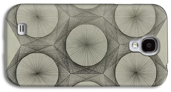 Einstein Drawings Galaxy S4 Cases - Nuclear Fusion Galaxy S4 Case by Jason Padgett