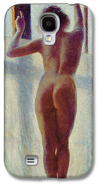 Neo Galaxy S4 Cases - Nude At The Window, 1905 Galaxy S4 Case by Pietro Mengarini