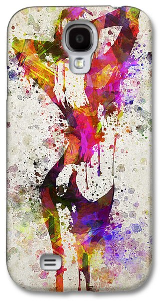 Nudes Digital Galaxy S4 Cases - Nude in Color Galaxy S4 Case by Aged Pixel
