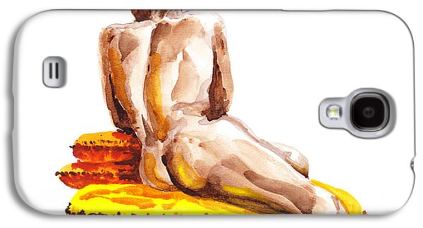African-american Galaxy S4 Cases - Nude Male Model Study VI Galaxy S4 Case by Irina Sztukowski