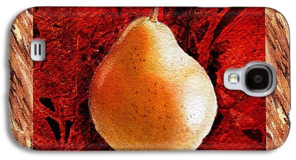 Pears Galaxy S4 Cases - Nude N Beautiful Pear  Galaxy S4 Case by Irina Sztukowski