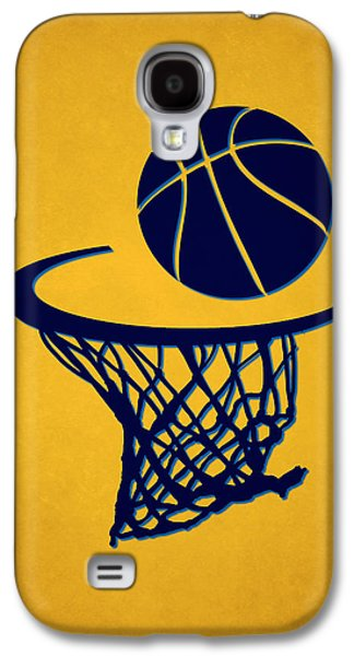 Dunk Galaxy S4 Cases - Nuggets Team Hoop2 Galaxy S4 Case by Joe Hamilton