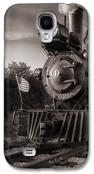 Original Art Photographs Galaxy S4 Cases - Number 4 Narrow Gauge Railroad Galaxy S4 Case by Bob Orsillo