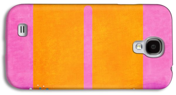 Pink Digital Art Galaxy S4 Cases - Number Zero Flotation Device Galaxy S4 Case by Carol Leigh