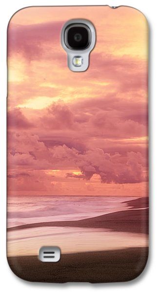 China Beach Galaxy S4 Cases - Nurturing Hues Galaxy S4 Case by Lourry Legarde