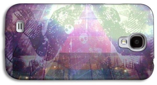 Photo Manipulation Drawings Galaxy S4 Cases - Nwo Galaxy S4 Case by Josephus Bartin