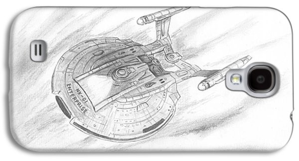 Recently Sold -  - Enterprise Galaxy S4 Cases - NX-01 Enterprise Galaxy S4 Case by Michael Penny