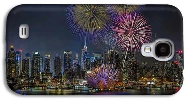 Susan Candelario Galaxy S4 Cases - NYC Celebrates Fleet Week Galaxy S4 Case by Susan Candelario