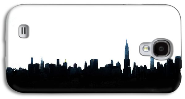 Nyc Silhouette Galaxy S4 Case by Natasha Marco