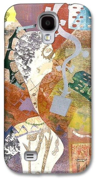 Mystical Landscape Reliefs Galaxy S4 Cases - Nymph 2 Galaxy S4 Case by Francisco Gonzalez