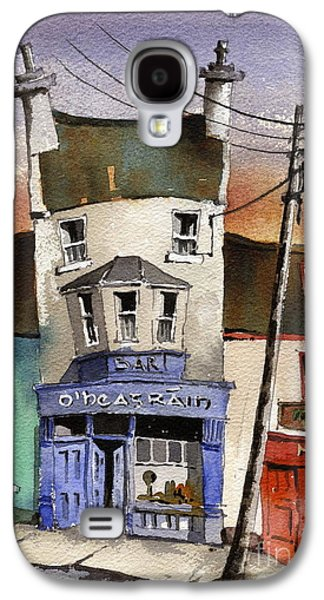Galaxy S4 Cases - O Heagrain Pub in Ennistymon   Clare Galaxy S4 Case by Val Byrne