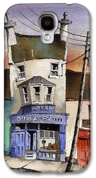 Sale Paintings Galaxy S4 Cases - O Heagrain Pub in Ennistymon   Clare Galaxy S4 Case by Val Byrne