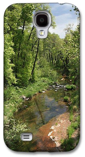 Oak Creek Galaxy S4 Cases - Oak Creek Galaxy S4 Case by Ellen Henneke