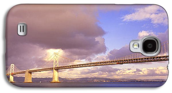 Oakland Bay Bridge San Francisco Galaxy S4 Case by Panoramic Images