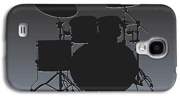 Oakland Photographs Galaxy S4 Cases - Oakland Raiders Drum Set Galaxy S4 Case by Joe Hamilton