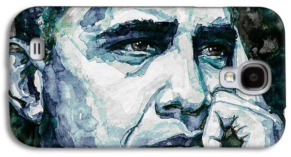 Barack Obama Galaxy S4 Cases - Obama 6 Galaxy S4 Case by Laur Iduc