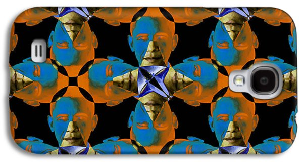 President Obama Galaxy S4 Cases - Obama Abstract 20130202p28 Galaxy S4 Case by Wingsdomain Art and Photography