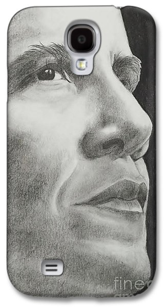 Barrack Obama Galaxy S4 Cases - Obama Galaxy S4 Case by Lise PICHE