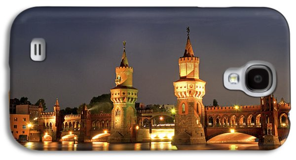 Bahn Galaxy S4 Cases - Oberbaumbrucker Galaxy S4 Case by Nathan Wright
